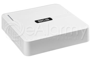 BCS-B-SNVR0401 Rejestrator IP 4 kanałowy, 4MPx BCS BASIC