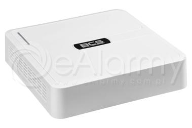 BCS-B-SNVR0801 Rejestrator IP 8 kanałowy, 4MPx BCS BASIC