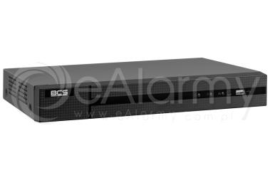 BCS-B-NVR0801-8P Rejestrator IP 8 kanałowy, 8MPx, PoE BCS BASIC