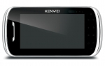 KW-S704C/W200-B Monitor głośnomówiący 7 cali, czarny, wbudowany moduł pamięci, wideodomofon KENWEI