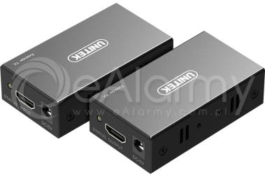 V100A Extender HDMI po skrętce, 60m UNITEK