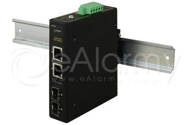 ISFG42 4-portowy switch PoE przemysłowy, 2xPoE PULSAR