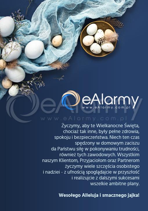 Życzenia zdrowych, spokojnych i bezpiecznych Świąt Wielkanocnych składa zespół eAlarmy.com.pl
