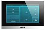 "C313S czarny Monitor wideodomofonu IP, 7"" AKUVOX"