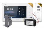 Zestaw wideodomofonowy FHD 7 cali, jednorodzinny, biały NEXWEI