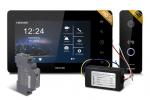 Zestaw wideodomofonowy FHD 7 cali, jednorodzinny, czarny NEXWEI