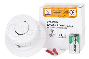MTS-166/9V Bezprzewodowy optyczny detektor dymu ELMES