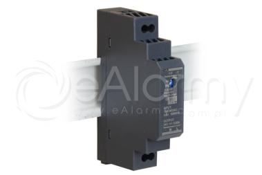 HDR-15-24 MEAN WELL Zasilacz 24V / 15W / 0.63A na szynę DIN