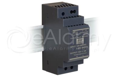 HDR-30-12 MEAN WELL Zasilacz 12V / 30W / 2A na szynę DIN