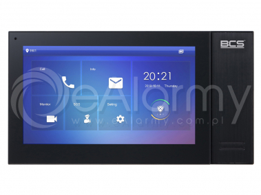 BCS-MON7400B-S Monitor wideodomofonowy IP BCS