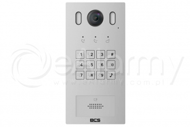 BCS-PAN1601S-S Panel wideodomofonowy IP BCS