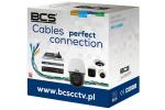 BCS-U/UTP-CAT5E-PVC Przewód UTP kat. 5e BCS [BOX 305m]