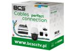 BCS-U/UTP-CAT6-PVC Przewód UTP kat. 6 BCS [BOX 305m]
