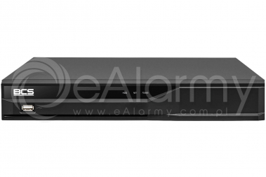 BCS-XVR08014KE-III Rejestrator HDCVI, HDTVI, AHD, ANALOG, IP 8 kanałowy BCS