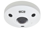 BCS-SFIP21200IR-Ai Kamera IP 12.0 Mpx, FISHEYE BCS