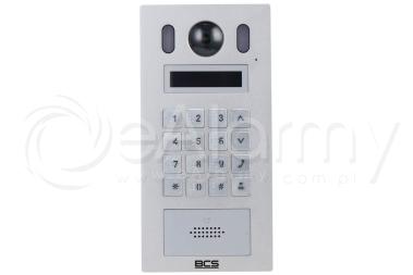 BCS-PAN9201S-S Panel wideodomofonowy IP BCS