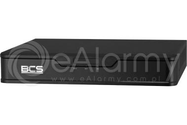 BCS-P-NVR0401-4P-E-II Rejestrator IP PoE 4-kanałowy BCS POINT