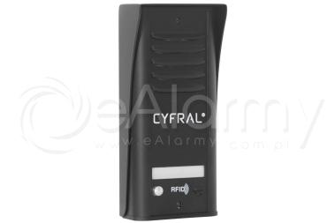 COSMO R1 CYFRAL Panel z czytnikiem RFID dla 1 lokatora, czarny
