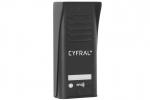 COSMO R1 Panel z czytnikiem RFID dla 1 lokatora, czarny CYFRAL