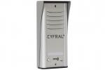COSMO R1 Panel z czytnikiem RFID dla 1 lokatora, srebrny CYFRAL