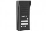 COSMO R2 Panel z czytnikiem RFID dla 2 lokatorów, czarny CYFRAL