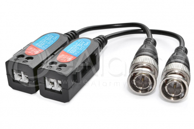 EVX-T803-4K Transformator video AHD CVI TVI pasywny 8 Mpx / 5 Mpx / 4 Mpx / 1080p, zestaw 2 szt. EVERMAX