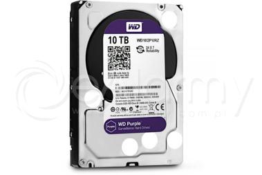 Dysk twardy HDD 10TB WD Purple, WD102PURZ Western Digital