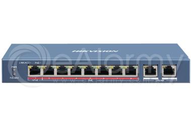 DS-3E0310HP-E Switch PoE HIKVISION, 8x PoE, 2xLAN