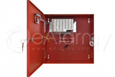 EN54C-5A40LCD Zasilacz buforowy do SSP, 5A, 2x40Ah PULSAR