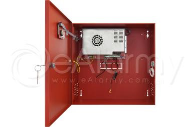 EN54C-10A40LCD Zasilacz buforowy do SSP, 10A, 2x40Ah PULSAR