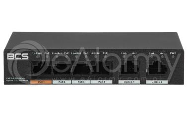 BCS-L-SP04G02G Switch PoE BCS 4x PoE, 2x RJ45
