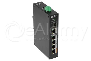 BCS-L-SP0401G-1SFP Switch PoE BCS 4x PoE, 1x RJ45, 1x SFP