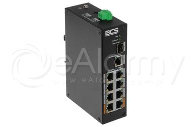 BCS-L-SP0801G-1SFP Switch PoE BCS 8x PoE, 1x RJ45, 1x SFP