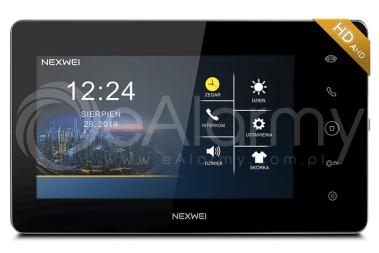 "NW-VI9E-B Monitor kolorowy 7"" NEXWEI"