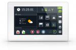 """INT-TSI-W Manipulator z ekranem dotykowym 7"""" SATEL"""