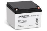 Akumulator AGM 12V 26Ah TCL26-12 TECHNOCELL