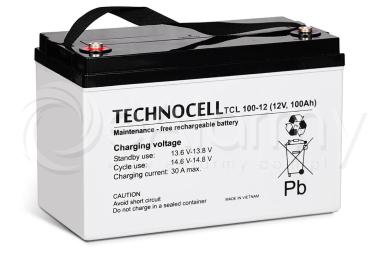 Akumulator AGM 12V 100Ah TCL100-12 TECHNOCELL