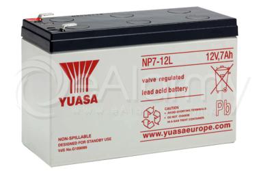 Akumulator AGM 12V 7Ah NP7-12L YUASA