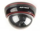DC2300 Atrapa kamery kopułkowej z diodą (czarna)