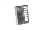 5025/7D Panel rozmówny z daszkiem oraz 7 przyciskami wywołania URMET MIWUS