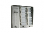 5025/14D Panel rozmówny z daszkiem oraz 14 przyciskami wywołania URMET MIWI
