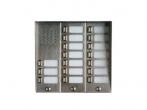 5025/17D Panel rozmówny z daszkiem oraz 17 przyciskami wywołania URMET MIWI