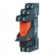 TR 43-K Przekaźnik bezpotencjałowy NO/NC do zdalnej sygnalizacji alarmu lub uszkodzenia, na szynę OMEGA D+H