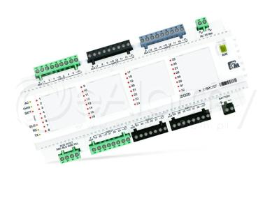 ZX32D Moduł rozszerzeń o 32 linie w obudowie na szynie DIN Paradox