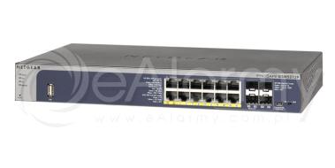 GSM5212P-100NES Netgear Przełącznik PROSAFE 12 x GIGABIT L2+ POE+