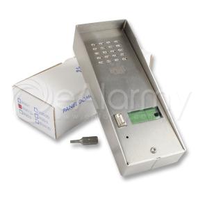 5025/1D URMET Panel rozmówny z daszkiem, 1 przyciskiem wywołania