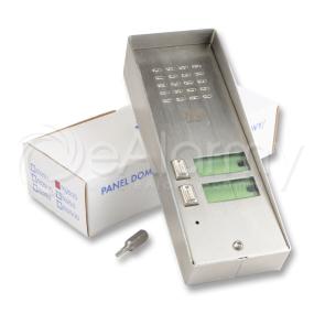 5025/2D URMET Panel rozmówny z daszkiem, 2 przycisk wywołania