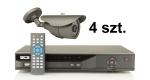Zestaw promocyjny 4x EVX-CB711IR Evermax + BCS-DVR0401QE