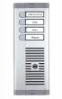 925/104 URMET Panel jednorzędowy - 4 przyciski wywołania