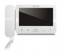 KW-E705C-W Monitor słuchawkowy, obudowa w kolorze białym, 7 cali, wideodomofon KENWEI
